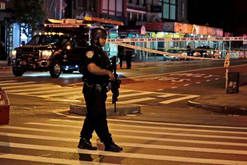 El barrio de Chelsea fue donde detonaron el artefacto. (Foto: EFE)