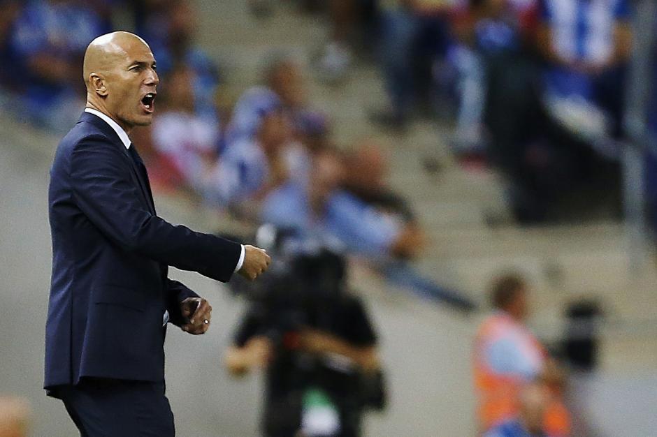 Zidane sigue marcando con éxito su camino como técnico de Real Madrid. (Foto: EFE)
