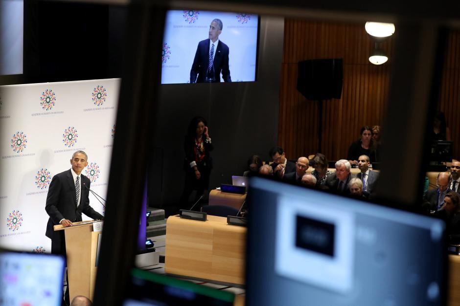 El mandatario Obama se refirió a la carta en su mensaje en la ONU. (Foto:EFE)