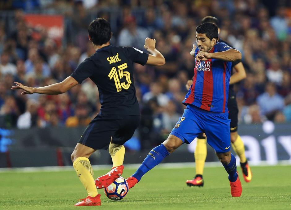 El Barcelona no pudo con el equipo madridista. (Foto: EFE)