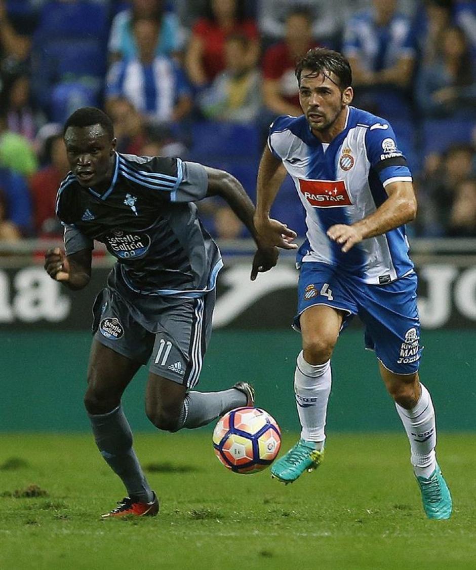 El danés sentenció el choque ante el Espanyol. (Foto: AFP)