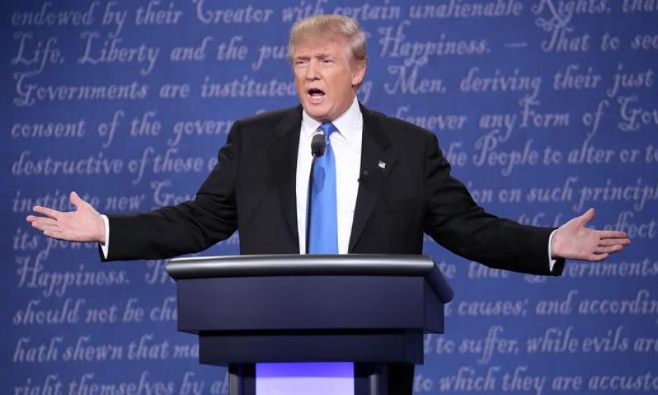 El candidato republicano no dudó en emitir comentarios políticamente incorrectos. (Foto: EFE)