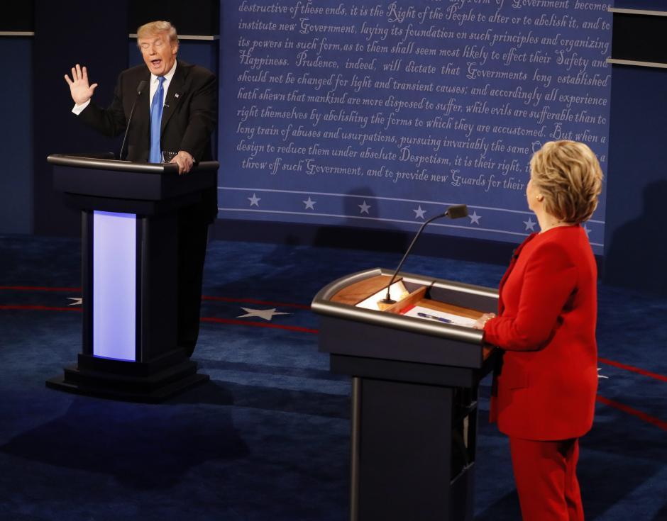 El debate se desarrolló en Nueva York. (Foto: EFE)