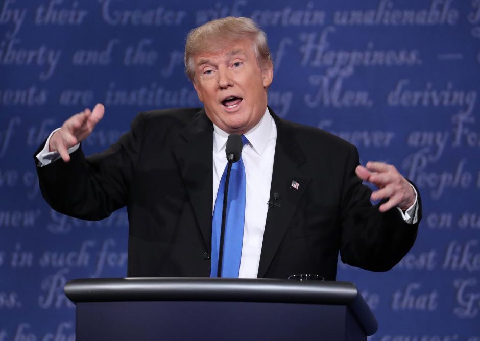 Donald Trump cuestionó la vigencia de la OTAN. (Foto: EFE)