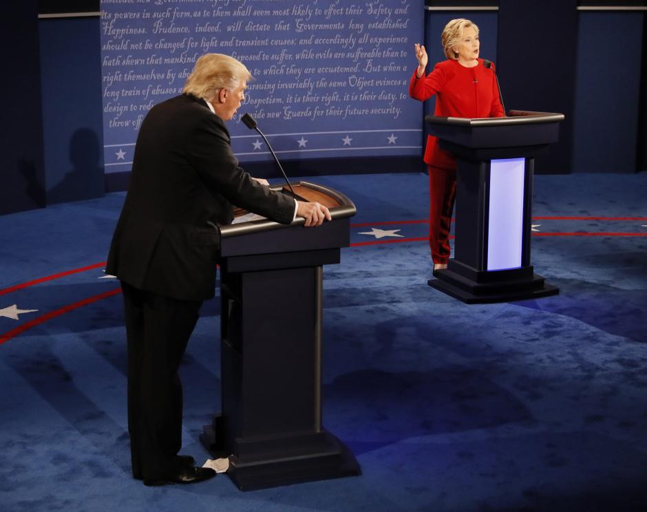 El debate estuvo marcado por ataques personales. (Foto: EFE)
