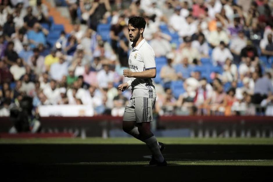 Isco apenas juega en el Real Madrid. (Foto: EFE)