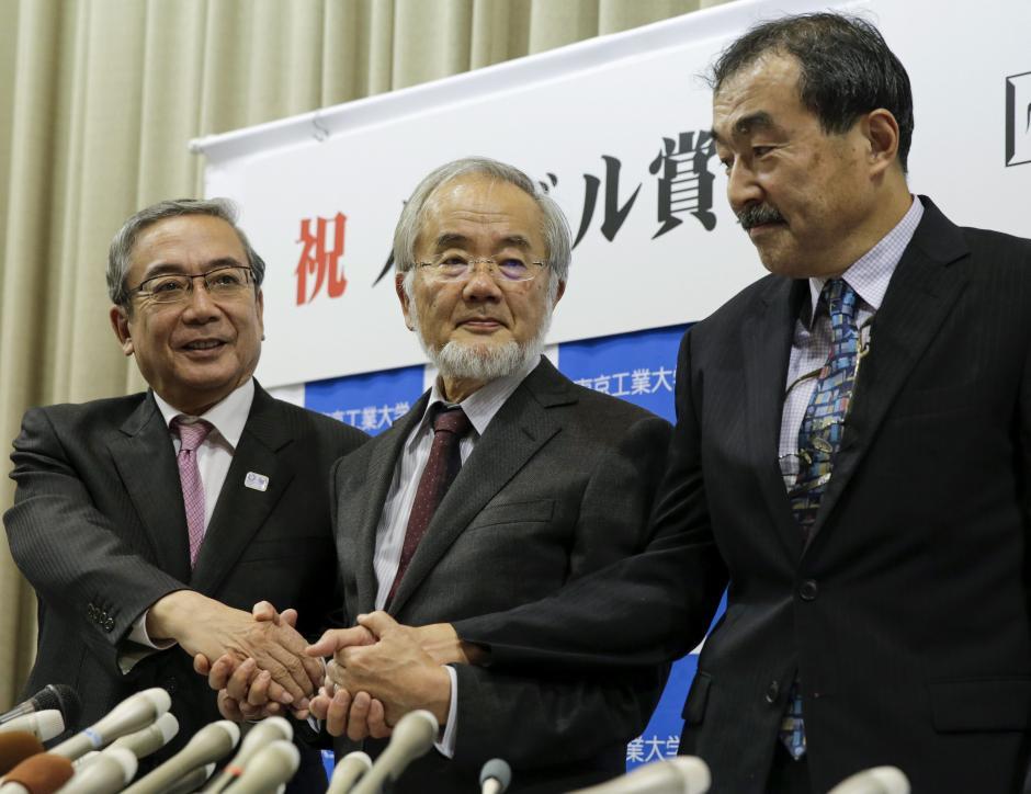 El científico japonés recibirá un diploma, una medalla de oro y una dotación económica. (Foto: EFE)
