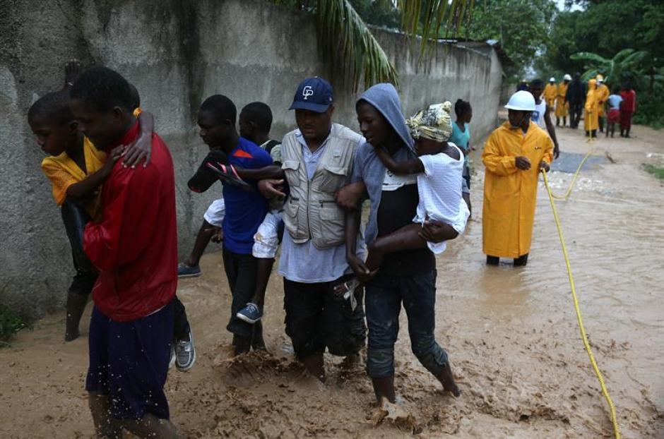 El gobierno ha comenzado a evacuar varias zonas. (Foto: EFE)