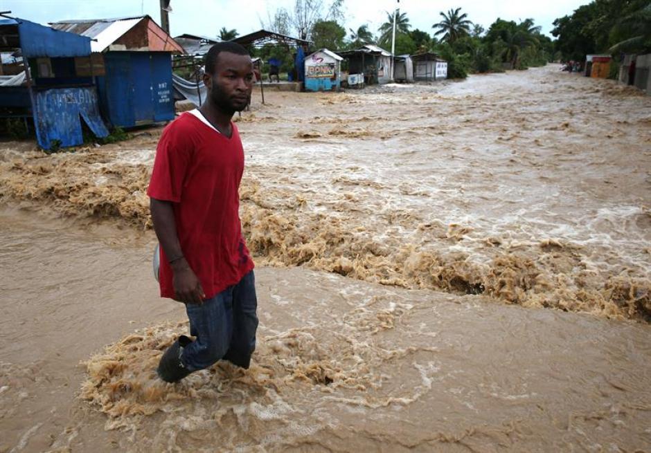 El huracán dejó daños en Cuba y otros países. (Foto: EFE)