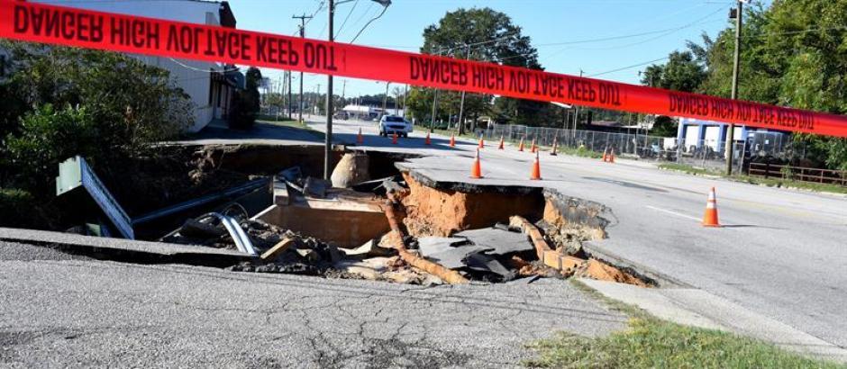 Sin embargo, el estado de emergencia se mantiene en Florida, Georgia, Carolina del Sur y del Norte. (Foto: EFE)
