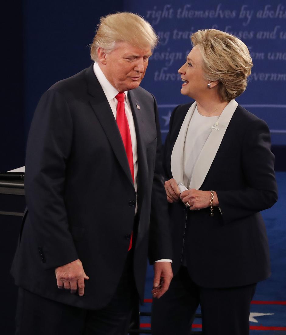 Ambos candidatos se acusaron mutuamente sobre distintos temas. (Foto. EFE)
