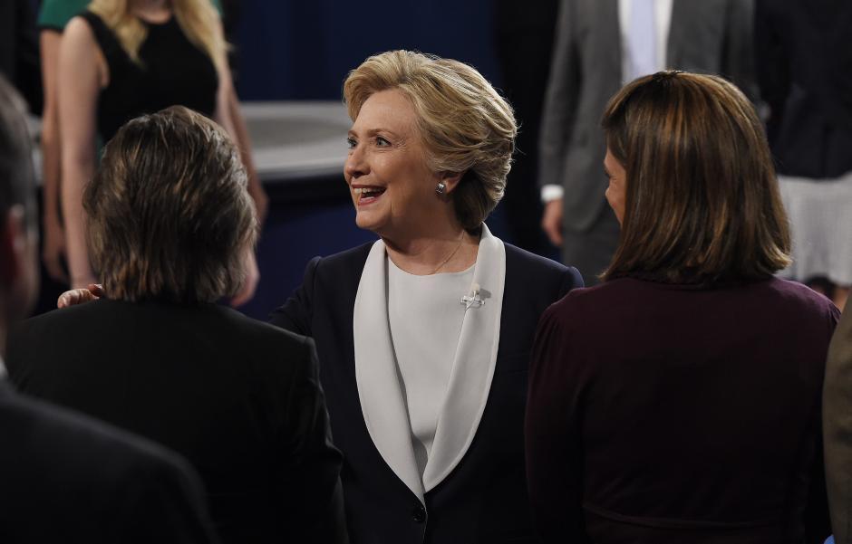 Clinton acusó a Trump de machista. (Foto. EFE)