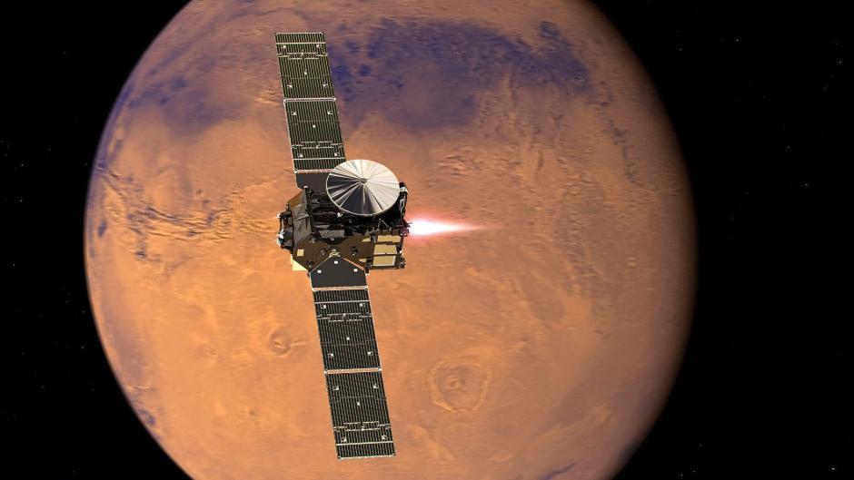 El Rover desconectó su señal 30 segundos antes del amartizaje. (Foto: EFE)