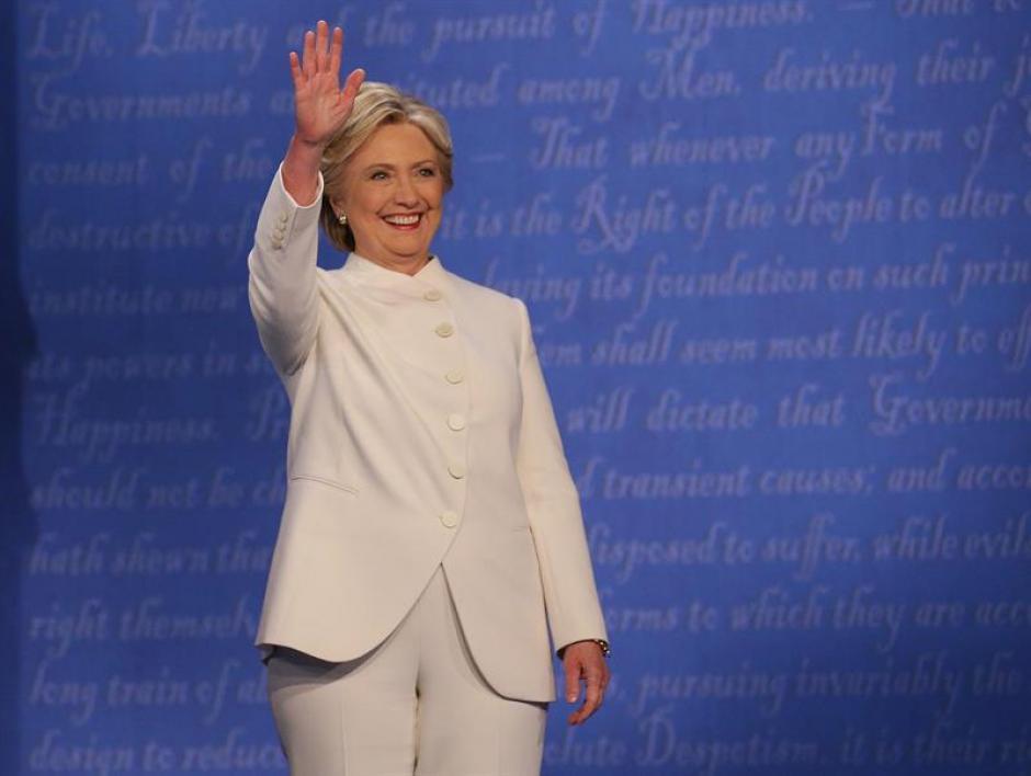 En el tema del aborto Clinton dijo que esta a favor del derecho de las mujeres. (Foto: EFE)