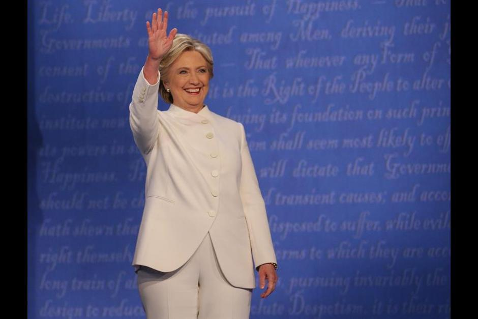 Hillary Clinton no reaccionó al ataque de Trump.c (Foto: EFE)