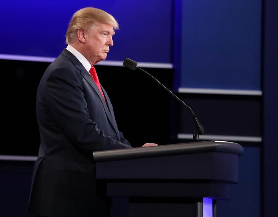 Trump rechazó la legislación sobre el aborto y defendió la de armas. (Foto: EFE)