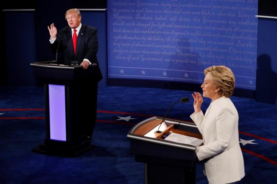 Trump, acusó a Clinton de estar detrás de las acusaciones de abuso sexual. (Foto: EFE)