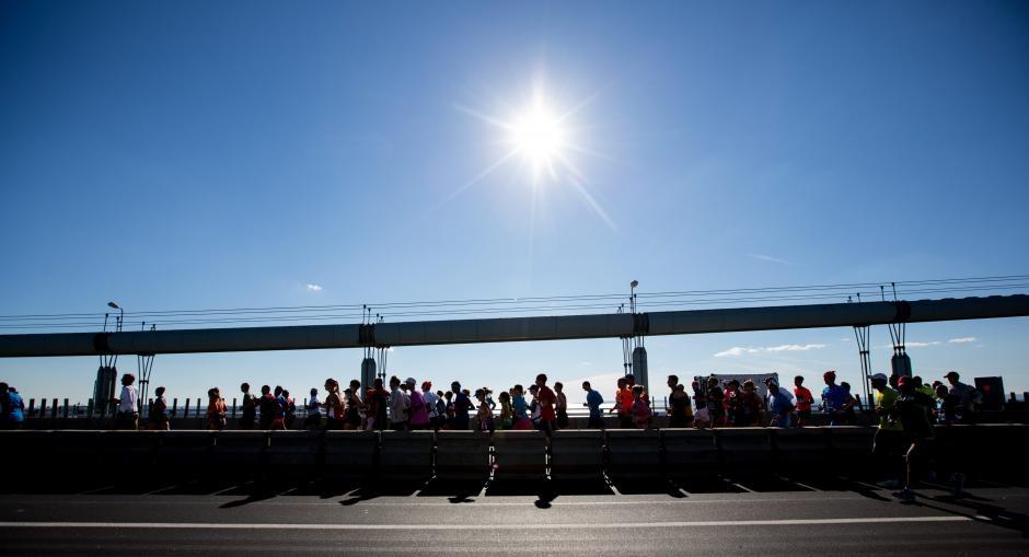El evento atrae a miles de corredores de todas partes del mundo. (Foto: EFE)