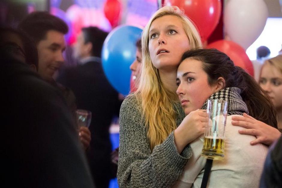 Los estadounidenses se mostraron confundidos tras los resultados. (Foto: EFE)
