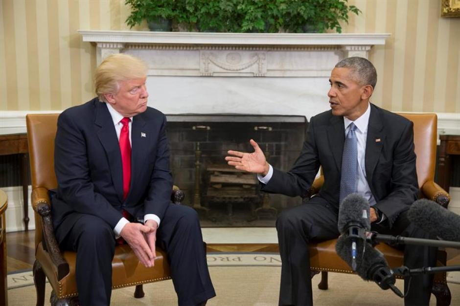 Ambos se mostraron dispuestos a trabajar juntos. (Foto: EFE)