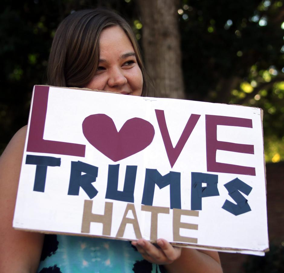 Las manifestaciones tuvieron lugar luego que Donald Trump fuera electo presidente de los Estados Unidos. (Foto: EFE)