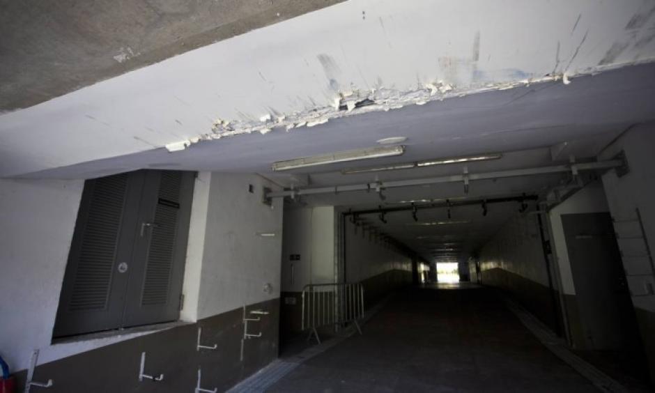El interior del estadio Maracaná está abandonado tras los Juegos Olímpicos. (Foto: Twitter)