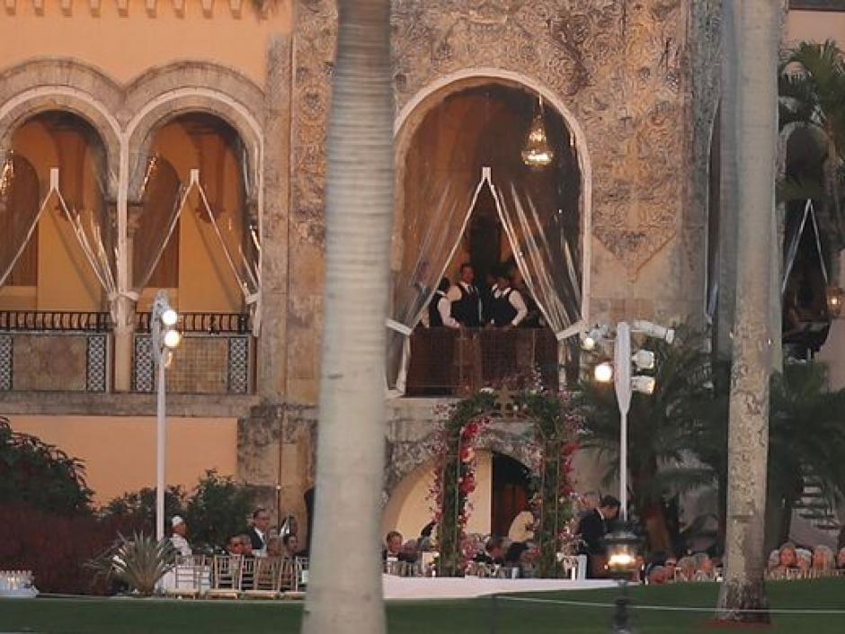 Así luce una de las áreas del club Mar-a-Lago. (Foto: USA TODAY)