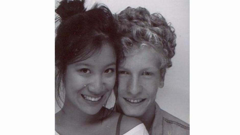 Hadrien Wattrelos de 17 años y su novia Zhao Yan estudiaban en el Liceo Francés de Pekín. Habían pasado dos semanas de vacaciones en Malasia. (Foto: Adrien Wattrelos/Facebook)