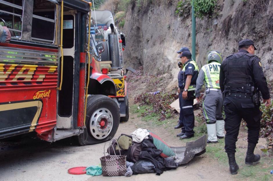 Se desconocen las causas que provocaron el percance vial.  (Foto: Fredy Hernández/Soy502)