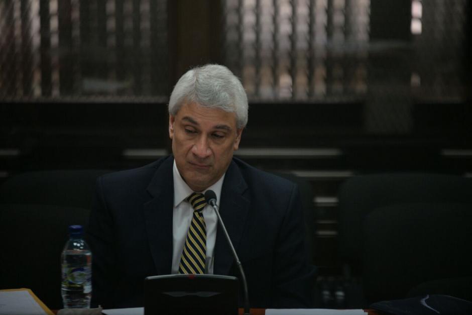 Enrique Castellanos se encontraba prófugo y se presentó el jueves 6 de octubre ante el juez Gálvez. (Foto: Wilder López/Soy502)