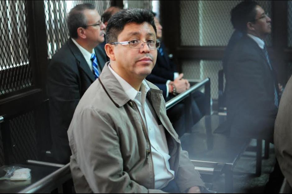 """Omar Franco, el exSuperintendente de la SAT, es otro de los señalados, en la estructura se le conocía como """"lentecitos"""". (Foto: Archivo/Soy502)"""