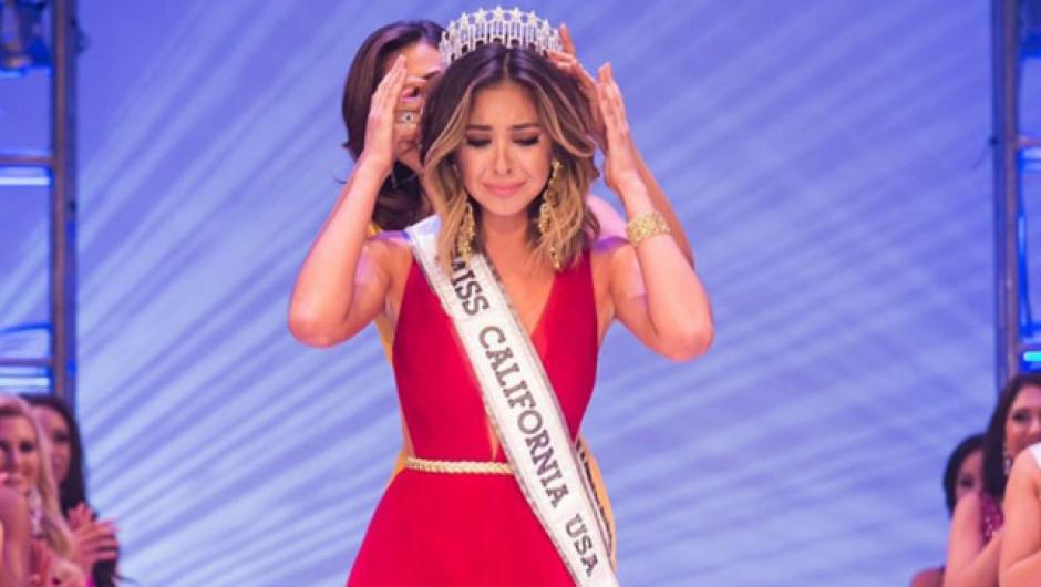 Miss California ha conseguido estremecer las redes sociales. (Foto: Twitter)