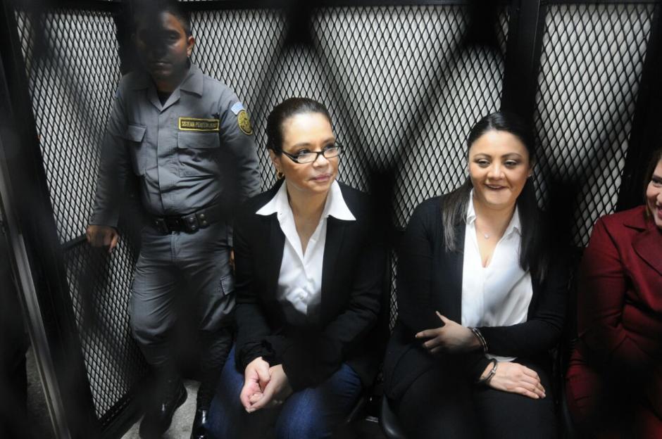 La exvicepresidenta Roxana Baldetti fue llevada a Tribunales por el caso Lago de Amatitlán. (Foto: Alejandro Balán/Soy502)