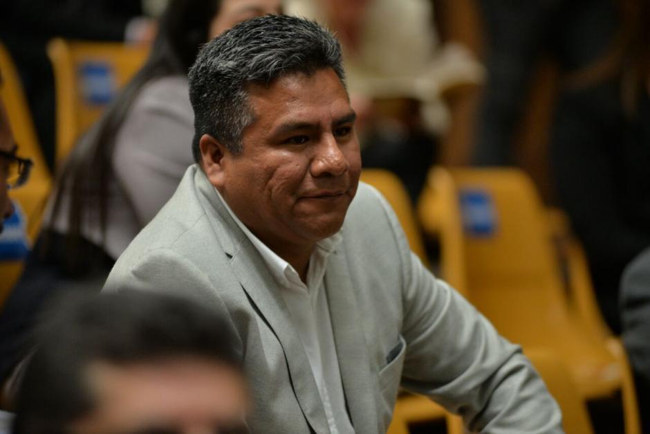 Samuel Aceituno, fue uno de los últimos en presentar sus argumentos de descargo. (Foto: Wilder López/Soy502)