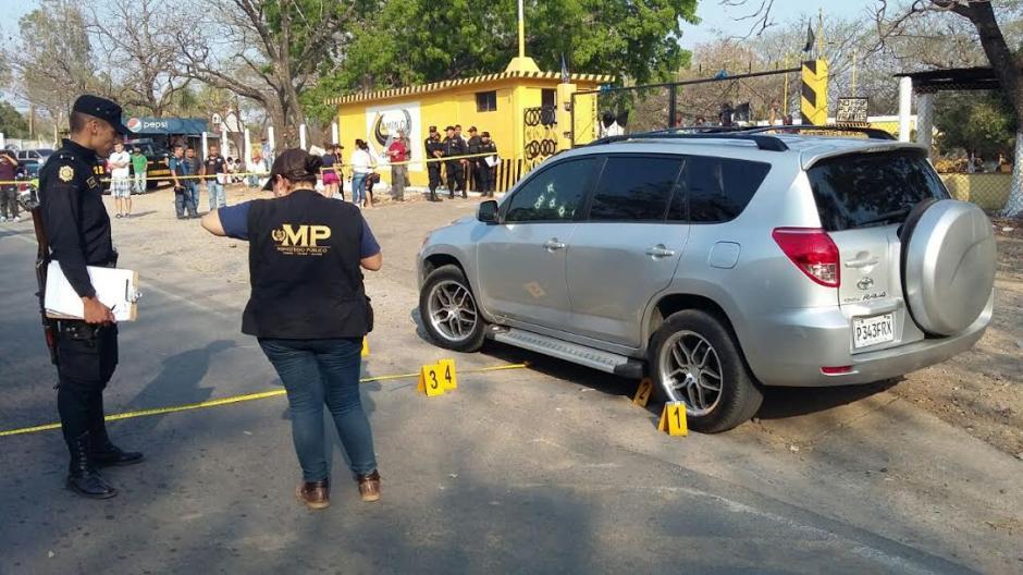 La víctima había llegado a Jutiapa para realizar unas diligencias en la radio local Estéreo Solar. (Foto: Emeldina Rizo/ Nuestro Diario)
