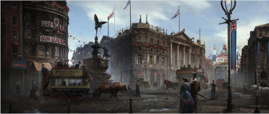 La trama del juego tiene lugar en 1868, durante el apogeo de la Revolución Industrial. Es un Londres lleno de fábricas, arrabales y gran actividad urbana. (Foto: cnet.com)