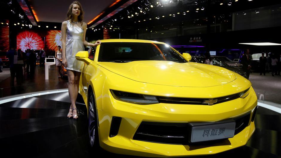 Chevrolet presentó su nuevo Camaro. (Foto: Infobae)