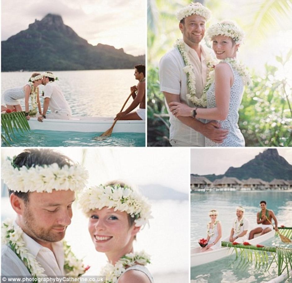 La pareja vendió su casa y su negocio para financiar su viaje.