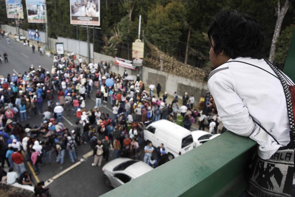 Aunque han suspendido sus labores varios días, los maestros recibirán el Bono 14 a tiempo. (Foto: Jesús Alfonso/Soy502)