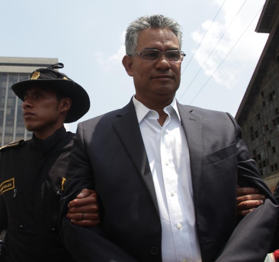 Carlos Enrique Muñoz Roldán, fungió como jefe de la SAT. (Foto: Archivo/Soy502)