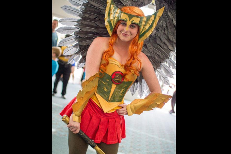 Esta pelirroja hizo suspirar a los presentes al Comic-Con. (Foto: sopitas.com)