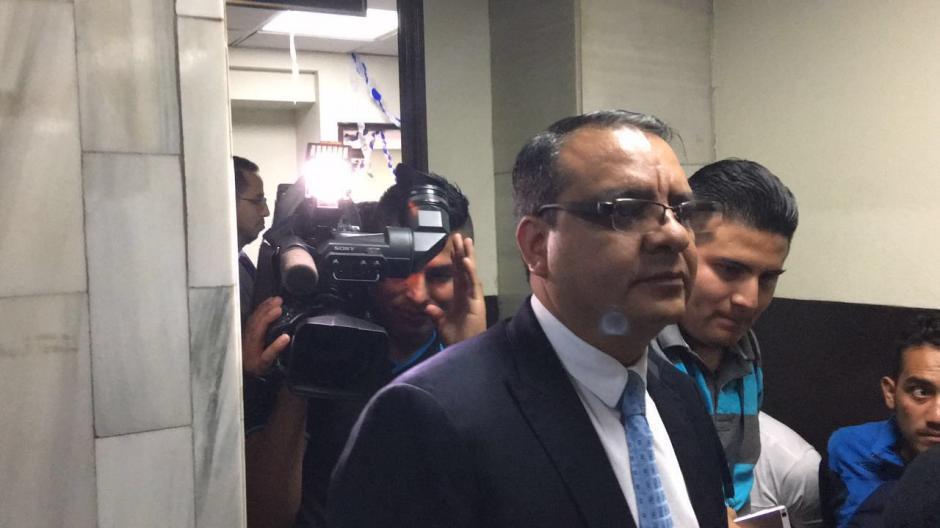 Selvin García, renunció como diputado por el caso de plazas fantasmas. (Foto: Jesús Alfonso/Soy502)