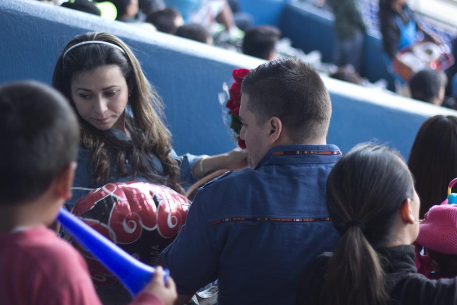 """Ella no dudó en decir """"sí"""" ante la propuesta de su novio. (Foto: José Dávila/Soy502)"""