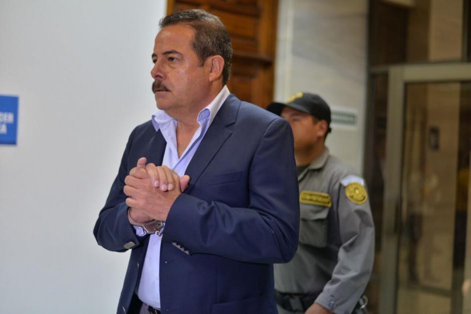 El expresidente de Banrural Fernando Peña está implicado en el caso Cooptación del Estado.  (Foto: Wilder López/Soy502)