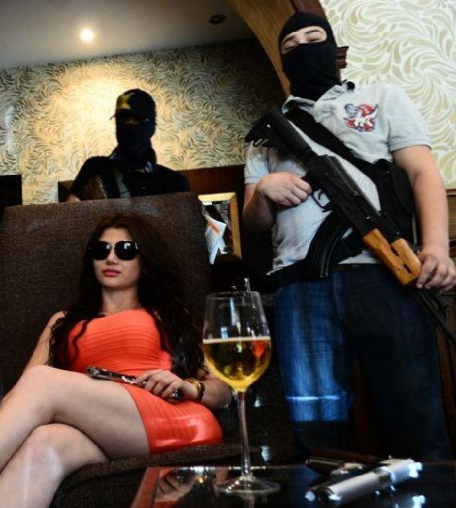"""""""La China"""" presumía de su vida lujosa y llena de armas en las redes sociales."""