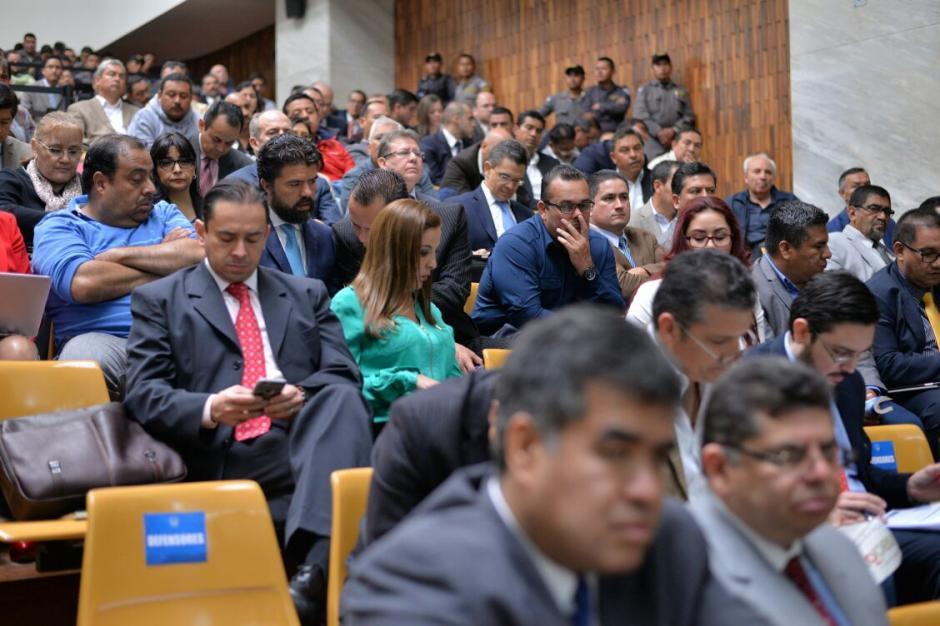 Al menos 18 de los sindicados en #CooptacióndelEstado serán trasladados hacia Matamoros. (Foto: Wilder López/Soy502)
