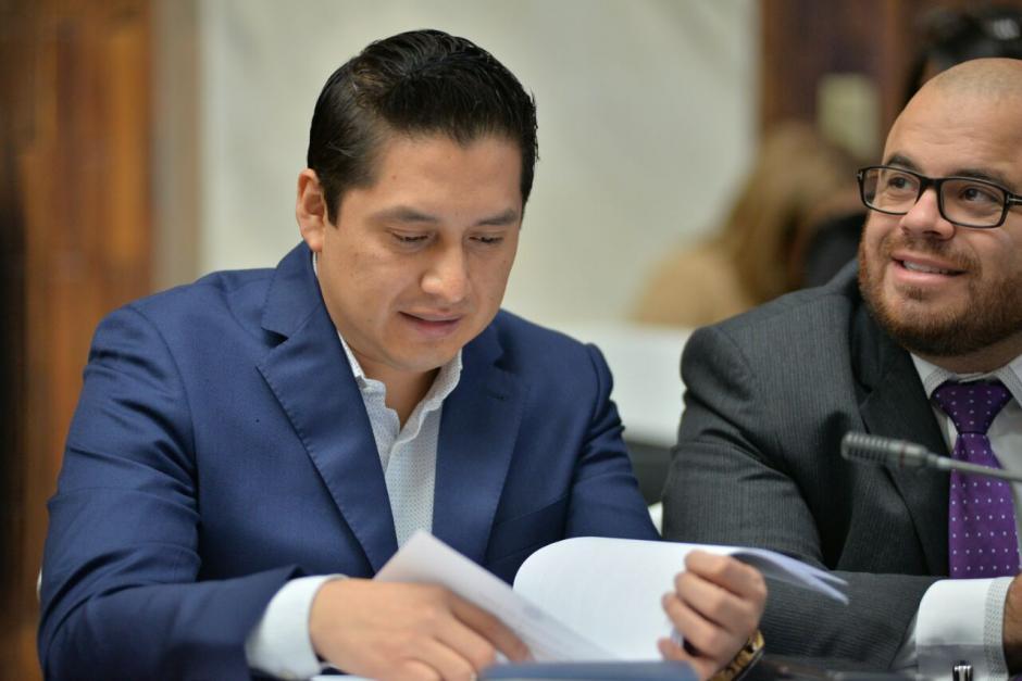 El abogado Mario Cano durante la jornada 12 de audiencia del caso Cooptación del Estado. (Foto: Wilder López/Soy502)