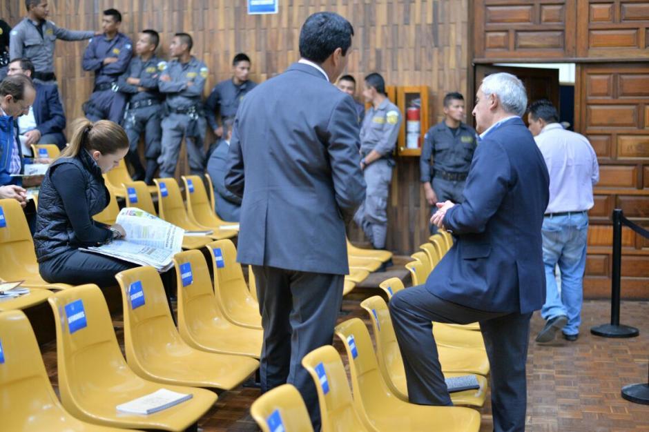 Este es el séptimo día de audiencia de primera declaración en el caso Cooptación del Estado. (Foto: Wilder López/Soy502)