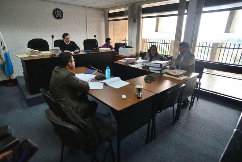El juicio de Extinción de la propiedad de Los Eucaliptos llegó a la etapa de conclusiones después de escuchar 4 testimonios. (Foto: Wilder López/Soy502)