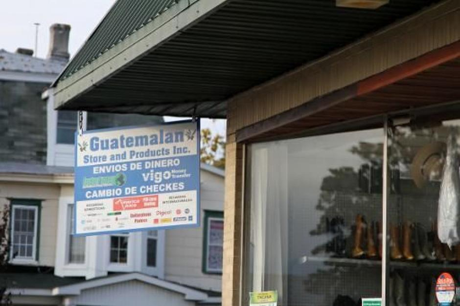 Los negocios de guatemaltecos en Georgetown cada día son más. (Foto: AFP)